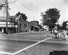 64th and Roosevelt, 1953 (Seattle Municipal Archives) Tags: seattle streetsign windmills roosevelt 1950s neighborhoods rooseveltwayne vandekamps seattlemunicipalarchives commercialstreets ne64thstreet