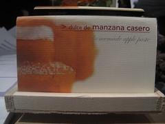 dulce de manzana casero