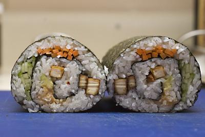 Spiral rolls - details