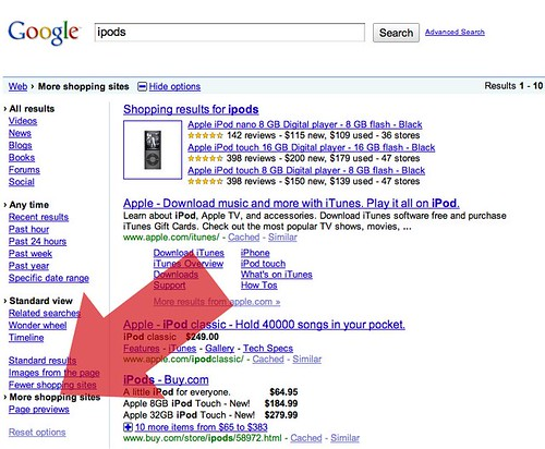 Google Shopping Sites
