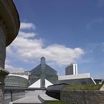 Luxembourg: Quartier du Kirchberg et Musée d'Art Moderne Grand-Duc Jean MUDAM