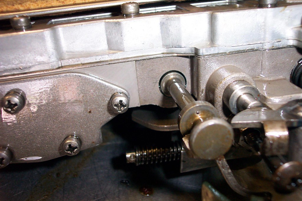 904 valve body removal