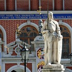 Riga: Old Town - House of Blackheads_Statue of Roland