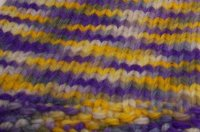Black Friday Sale <BR>Purple and Gold Medium Pants<BR> Knit By Debi<BR> Free Shipping!