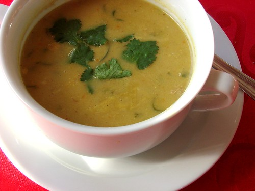 Turkey Mulligatawny Soup
