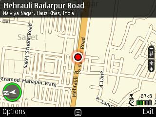 Nokia E72 GPS