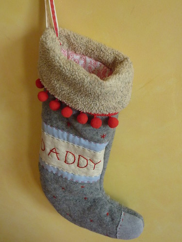 """Stocking for daddy • <a style=""""font-size:0.8em;"""" href=""""http://www.flickr.com/photos/35733879@N02/4145027186/"""" target=""""_blank"""">View on Flickr</a>"""