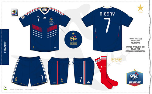 more photos 929bd 821ad France home kit World Cup 2010 - a photo on Flickriver