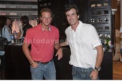 Adolfito Cambiaso y David Nalbandian