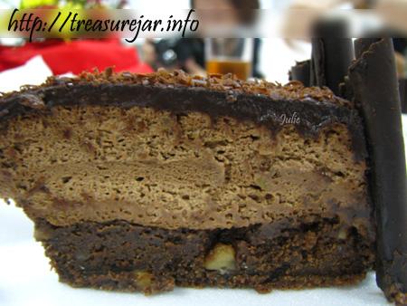 Red Ribbon Chocolate Walnut Fudge with Hershey's Dark Chocolate