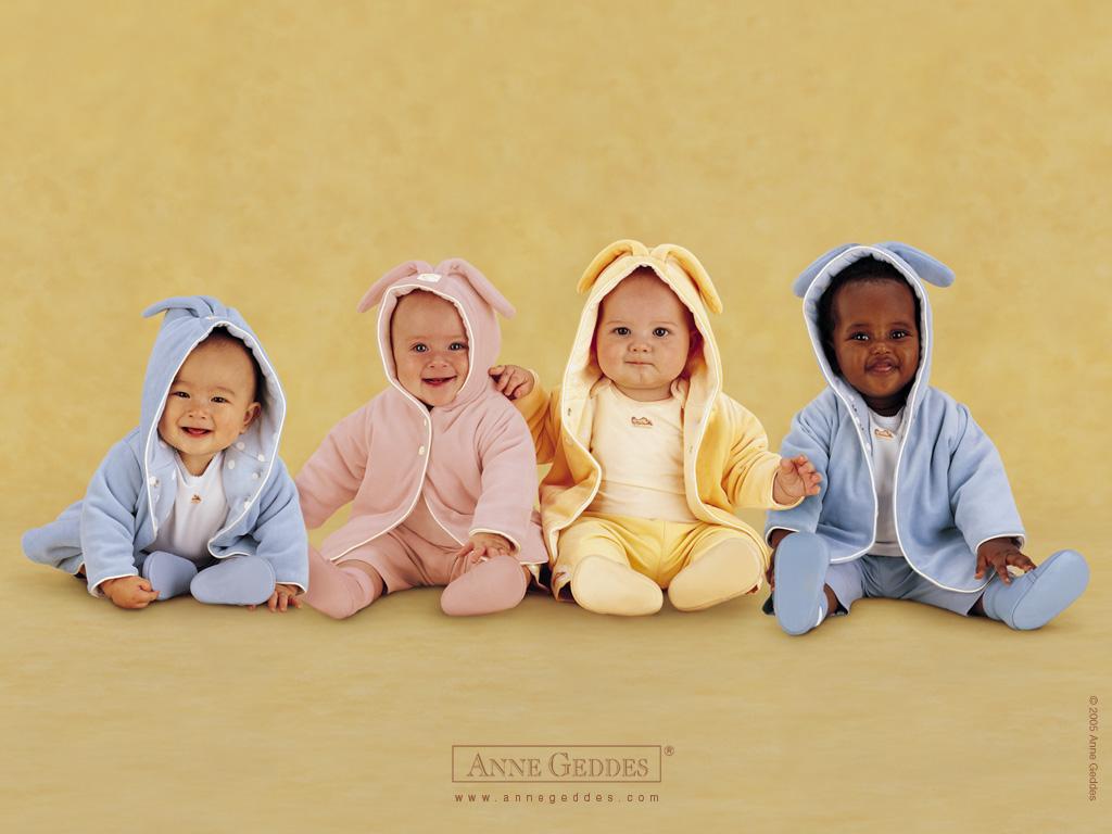 Los bebés siempre son graciosos