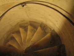 Notre Dame de Paris - Bell Tower Staircase Video (*Checco*) Tags: paris france building tower church architecture spiral video europa europe stair cathedral bell basilica gothic down belltower notredame chiesa belfry step staircase notre dame francia glise parigi