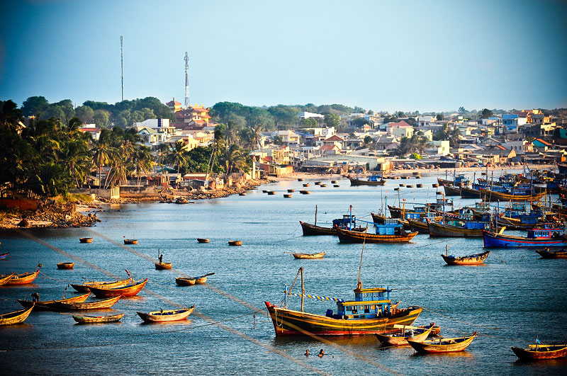 вьетнам нячанг рыбацкая деревня