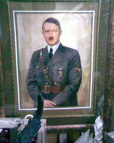 Hitler at a flea market