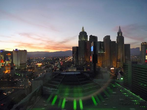 MGM Grand hotel view las vegas