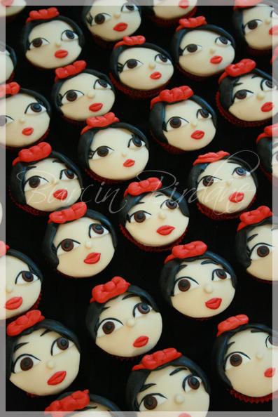 Pamuk Prenses Cupcake
