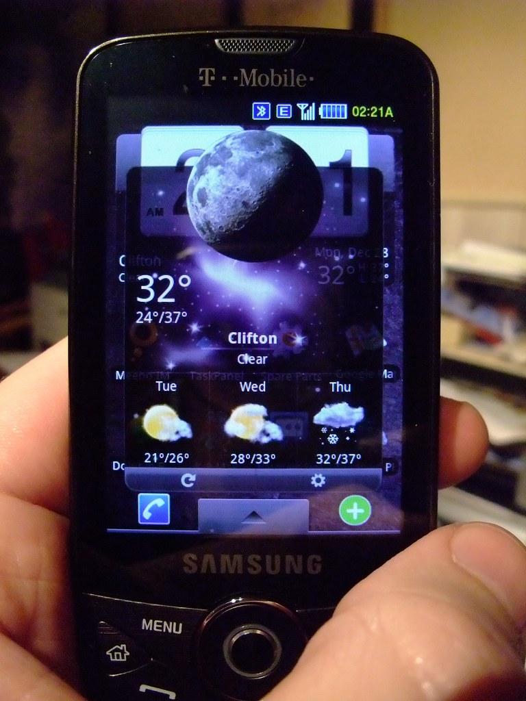 Day 75 - Samsung Behold II