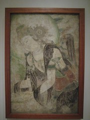 Bodhisattva (unforth) Tags: chicago art museum ink painting asian religious illinois buddhist chinese artinstituteofchicago artmuseum henanprovince 10thcentury zhoudynasty
