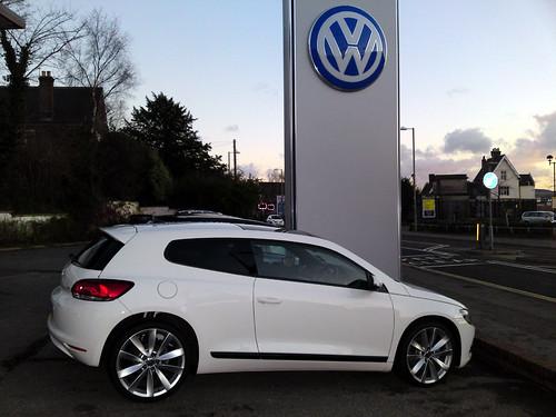 Seit Jahren ein starkets Gespann: VW und Tuner Abt. Auch beim neuen VW Scirocco hat die Zusammenarbeit wieder gefruchtet.©flickr/205gti306gti