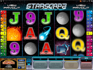 Starscape slot game online review