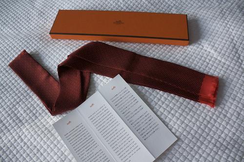 Hermès Scarf-Tie2