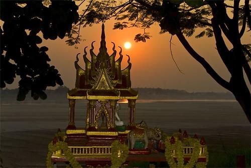 Geiterhaus am Mekong