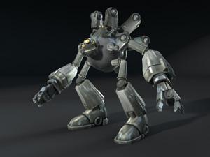 Spore robot parts