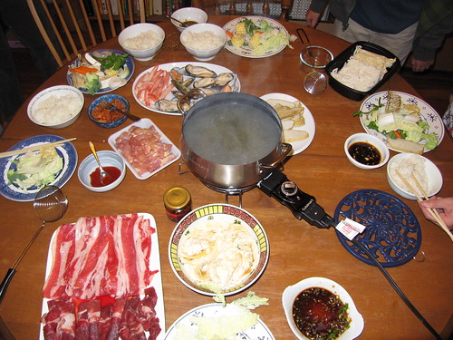 hot pot at home
