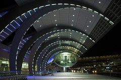 Dubai International Airport (Stewie1980) Tags: 3 night airport dubai united uae terminal emirates international arab finepix fujifilm دبي a700 fujifilmfinepixa700