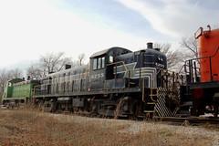 New York Central Railroad No. 8255 (RS-3), Kansas, Baldwin City (3,981) (EC Leatherberry) Tags: railroad kansas locomotive 1951 midlandrailway douglascounty touristtrain newyorkcentralrailroad 8255 rs3
