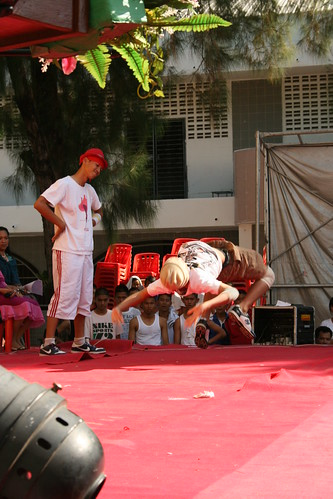 Thai Break Dancing