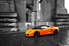 LP (Denniske) Tags: brussels orange motion speed canon eos spider movement angle action 10 wide january sigma convertible spyder 01 lp 17 mm dennis panning brussel 1020 lamborghini arancio bri 17th jubelpark rami gallardo oranje 2010 cabriolet 560 noten f456 5604 40d lam666 denniske lp560 lp5604 dennisnotencom