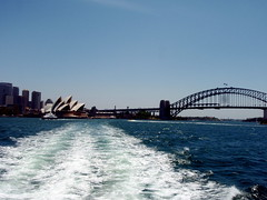 Sydney Harbor view