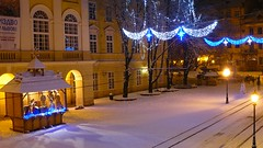 Winter night at Rynok Square, L'viv (Schuilr) Tags: winter night lviv ukraine rynok