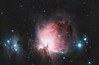 Orion nebula - Messier 42  -  5 hours worth (zAmb0ni) Tags: sky man reflection night stars long exposure running telescope nebula astrophotography orion m42 astronomy messier 42 emission