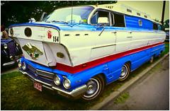 Ugly Stack of 1962 Buicks on Ektachrome
