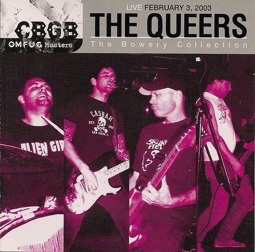 02/03/03 The Queers @ CBGB (CD Booklet)