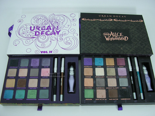 Urban Decay Alice In Wonderland vs. Book Of Shadows Vol. II