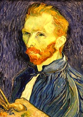 Self Portrait by Vincent Van Gogh, 1889