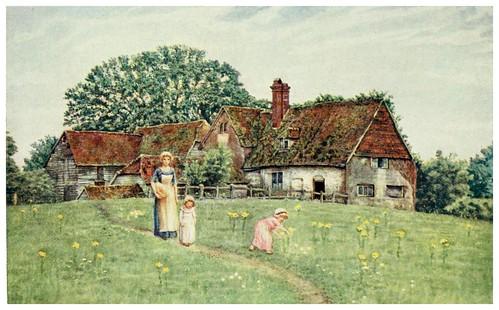 011-La vieja granja-Kate Greenaway 1905- Marion Spielmann y George Layard
