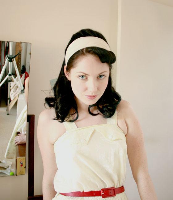 yellow summer dress8