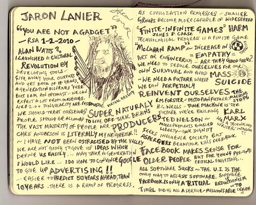 Jaron Lanier at The RSA