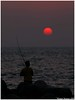 Fly Fishing!! (Naseer Ommer) Tags: sunset sun india beach canon fly fishing kerala flyfishing cherai sportfishing angling fishingtackle naseerommer canon300mm canoneos5dmarkii munambham discoverplanet dpintl