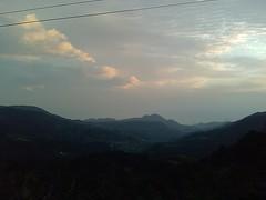 View from Wu Zhi Shan looking down at Wanli
