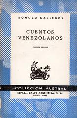 Romulo Gallegos, Cuentos venezolanos