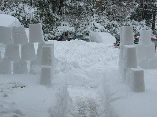 my snow fort