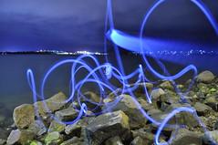 Blue spirit (Shashin.Ninja) Tags: hobart nightscapes tasmanbridge