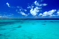Welcome to blue planet! (( _`) Sho) Tags: ocean blue sea summer japan paradise  okinawa   miyako