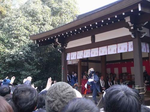 飛鳥坐神社(おんだ祭)@明日香村-14