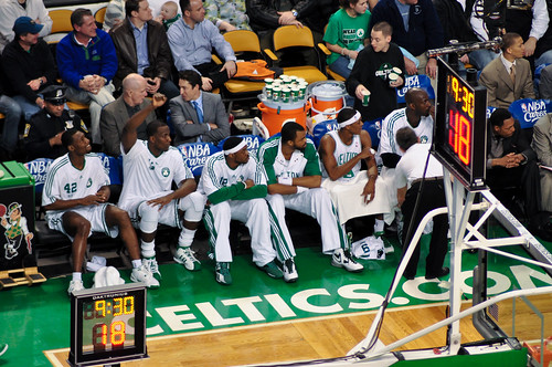 Boston Celtics and the Garden
